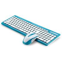 Bộ bàn phím và chuột không dây Motospeed G1000/K139 - dành cho văn phòng (Trắng xanh) HÀNG CHÍNH HÃNG