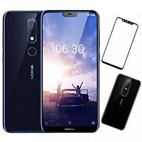 Điện Thoại Nokia X6 64GB Ram 6GB + Ốp Lưng + Cường Lực Full Màn 5D - Hàng Nhập Khẩu
