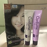 Nhuộm tóc phủ bạc thời trang (Hàn Quốc) Nhuộm tóc Welcos confume hair color 7BN  2 x 60g