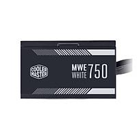 Nguồn máy tính Cooler Master MWE 750 WHITE V2 80 Plus WHITE - Hàng chính hãng
