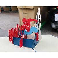Thiệp 3D Sinh nhật - Người nhện Spiderman - L130