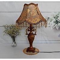 [Tặng kèm bóng LED & Miếng lót đế cao cấp] Đèn Bàn Trang Trí - Đèn Để Bàn Đẹp - Đèn Phòng Ngủ Đẹp Hiện Đại DN-430 .