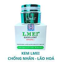 KEM LMEI XANH - LMEI WHITENING ANTI-AGING BEAUTY CREAM 20G
