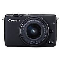 Máy Ảnh Canon EOS M10 Kit 15-45mm IS STM - Đen - Hàng Chính Hãng (Tặng Thẻ 16G + Túi Máy + Tấm Dán LCD)
