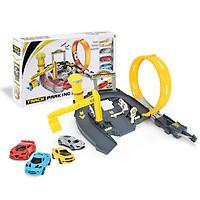Rail Cars Assembly Car Toys Small Multicolor Kidsroom Diy