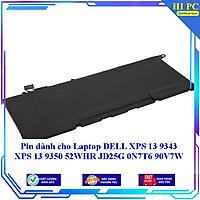 Pin dành cho Laptop DELL XPS 13 9343 XPS 13 9350 52WHR JD25G 0N7T6 90V7W - Hàng Nhập Khẩu