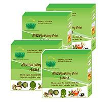 4 Hộp Atiso Đậu Đường Phèn MACHA- Thực phẩm chức năng chăm sóc sức khỏe