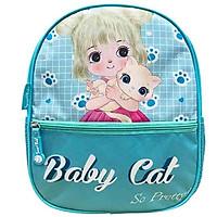 Ba Lô Mẫu Giáo Toy Station-Baby Cat B-008 - Xanh Nhạt