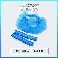 Túi 100 cái Nón lưới vải không dệt trùm tóc - Nón bảo hộ lao động