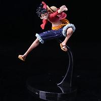 Mô hình One Piece - Luffy Mũ Rơm Bản Haki - Mô hình cao cấp