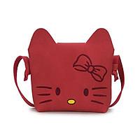 Túi đeo chéo mini hình mèo dễ thương cho bé gái