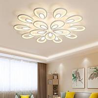 Đèn trần - đèn LED ốp trần - đèn trần trang trí 15 cánh  hoa hiện đại