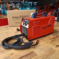 Máy hàn mig Protech 200i mini - tặng kính hàn điện tử, cuộn dây hàn, bao tay da xịn, ke góc nam châm