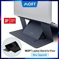 Đế Nâng MacBook Siêu Mỏng MOFT Laptop Stand Air-Flow (New Upgrade), Nâng Cấp Thêm Lỗ Thoát Nhiệt - Hàng Chính Hãng