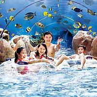 Vé Tham Quan Adventure Cove Waterpark Singapore