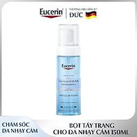 Bọt Tẩy Trang Eucerin Làm Sạch & Dưỡng Ẩm Da Dermato Clean Hyaluron Micellar Foam 3 in 1 150ml