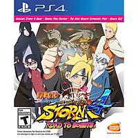 Đĩa game Naruto Shippuden Ultimate Ninja Storm 4 Road To Boruto cho PS4 - Hàng Nhập Khẩu