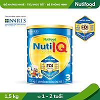 Sữa Bột Nuti IQ Gold 3 1.5kg