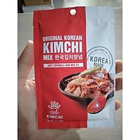Gia vị làm kim chi hoàn chỉnh, Bột gia vị muối kimchi hàn quốc 40g - 김치 양념