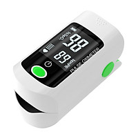 LCD Pulse Oximeter Fingertip, Blood Oxygen Saturation Monitor (SpO2) with Lanyard