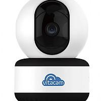 Camera IP Wifi Vitacam C1080 Pro  Full HD  Bám theo chuyển động - đàm thoại 2 chiều + Thẻ nhớ 32G - Hàng nhập khẩu