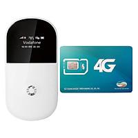Bộ Phát Wifi Di Động 3G-Vodafone R205 + Sim 3G/4G Viettel 7GB/Tháng - Hàng Nhập Khẩu
