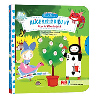 Sách Tương Tác - Sách Chuyển Động - First Stories - Alice In Wonderland - Alice Ở Xứ Sở Diệu Kỳ
