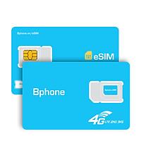 eSim Bphone B86 dùng cho các dòng điện thoại hỗ trợ eSim- Hàng chính hãng