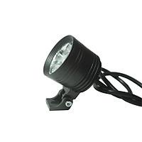 Đèn Led trợ sáng L4 ngắn dành cho xe máy - kèm theo len vàng và bộ khóa