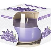 Ly nến thơm tinh dầu Bispol Lavender 100g QT024458 - hoa oải hương
