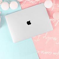 COMBO 3in1 - Case, ốp kèm phủ phím dành cho Macbook - Màu Trong suốt [Tặng kèm nút chống bụi Macbook - Màu ngẫu nhiên] - Hàng chính hãng