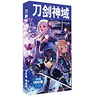 Bộ Postcard Hộp ảnh Anime Sword Art Online 180 pcs