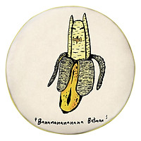Gối Ôm Tròn Banana Batman - GOFO031