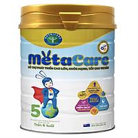 Sữa bột Nutricare Metacare 5 Mới - phát triển toàn diện cho trẻ trên 6 tuổi