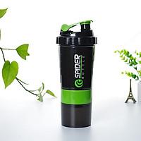 Bình nước tập Gym Shaker chính hãng Top Body, bình lắc 3 ngăn, có lò xo ở bên trong, sử dụng tập gym, chơi thể thao