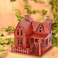 Đồ chơi lắp ráp gỗ 3D Mô hình Rustic House R-8072