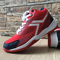 Giày bóng chuyền HT-Spiking màu trắng đỏ