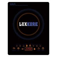Bếp Điện Từ Đơn Luxkore S43 + Tặng 1 Nồi Inox Nắp Kính Đa Năng - Hàng chính hãng
