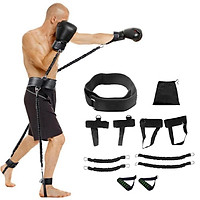 Speed & Strength Training Rope for Boxing Basketball Fencing Resistance Band