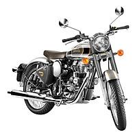 Xe Motor Royal Enfield Classic 500 EFI - Chrome xám