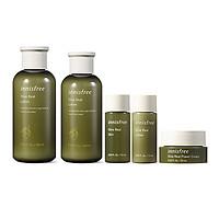 Set Dưỡng Dành Cho Da Khô Innisfree Olive Real Skin Care Set