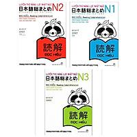 Combo Sách Luyện Thi Năng Lực Nhật Ngữ Hiệu Quả Nhất : Luyện Thi Năng Lực Nhật Ngữ N1 + Luyện Thi Năng Lực Nhật  Ngữ N2 + Luyện Thi Năng lực Nhật Ngữ N3 ( Tặng Kèm Bookmark Happy Life)