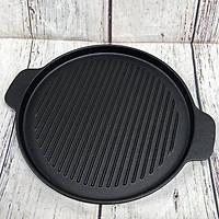 Chảo nướng gang bếp cồn chống dính 22 cm