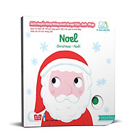 Sách Tương Tác - Sách Chuyển Động Thông Minh Đa Ngữ Việt - Anh - Pháp: Noel – Christmas – Noël