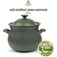 Nồi Dưỡng Sinh Hathor + Nắp Minh Long Healthycook (7.1L)