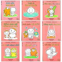 Ehon Nhật Bản nuôi dưỡng tâm hồn: Momo Chú Bé Quả Đào Chơi cùng Momo phát triển kỹ năng vận động và cảm xúc Tặng cuốn rèn luyện kĩ năng cho bé
