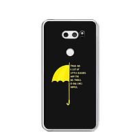 Ốp lưng dẻo cho điện thoại LG V30 - 0483 Umbrella - Hàng Chính Hãng