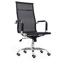 Ghế xoay lưới GX206 - Tặng kèm 1 miếng lót ghế hạt gỗ hương - Khô thoáng - Ngăn ra mồi hội hiệu quả