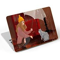 Mẫu Dán Trang Trí Laptop Nghệ Thuật LTNT - 743
