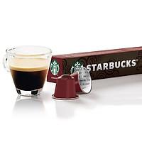 Cà phê viên nén Sumatra sản xuất một lần của Starbucks (10 viên/ hộp; thích hợp cho máy pha cà phê viên nén Nespresso) (x2)